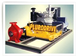 DIESEL ENGINE DRIVEN FIRE PUMP + 3 PHASE POWER ALTERNATOR